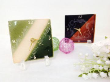 ●○時計+豆皿づくり特別レッスン2017○● -東京新宿の陶芸教室 プロップスアートスクールで陶芸体験-の画像