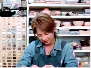 松岡充さんがご来校しました -東京新宿の陶芸教室 プロップスアートスクールで陶芸体験-の画像