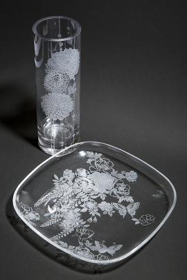 サンドブラスト課題③(花瓶)