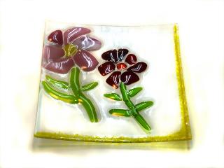 フュージング*焼成 -東京新宿の陶芸教室 プロップスアートスクールで陶芸体験-の画像
