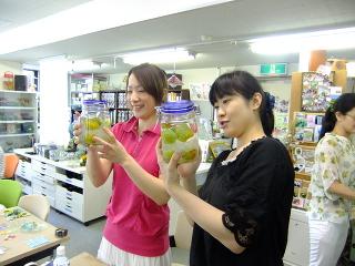 特別レッスン 梅酒作り*サンドブラスト -東京新宿の陶芸教室 プロップスアートスクールで陶芸体験-の画像