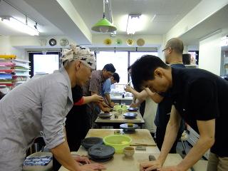 陶芸体験レッスン -東京新宿の陶芸教室 プロップスアートスクールで陶芸体験-の画像