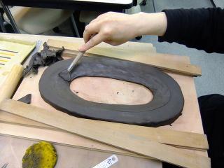 フュージング -東京新宿の陶芸教室 プロップスアートスクールで陶芸体験-の画像