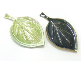 陶芸で葉っぱのお皿 -東京新宿の陶芸教室 プロップスアートスクールで陶芸体験-の画像
