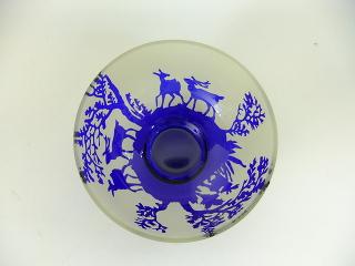 サンドブラスト*お茶碗 -東京新宿の陶芸教室 プロップスアートスクールで陶芸体験-の画像