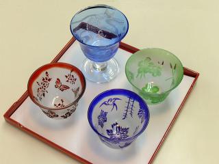サンドブラスト*酒器 -東京新宿の陶芸教室 プロップスアートスクールで陶芸体験-の画像
