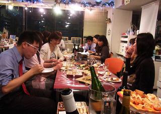 第19回 クリスマス☆マイカップパーティ -東京新宿の陶芸教室 プロップスアートスクールで陶芸体験-の画像
