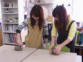陶芸体験  -東京新宿の陶芸教室 プロップスアートスクールで陶芸体験-の画像