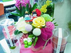 ひな祭り仕様に -東京新宿の陶芸教室 プロップスアートスクールで陶芸体験-の画像