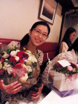 講師の結婚お祝い会を開催しました~! -東京新宿の陶芸教室 プロップスアートスクールで陶芸体験-の画像
