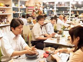 陶芸で婚活☆『陶婚』を開催いたしました!報告写真掲載!! -東京新宿の陶芸教室 プロップスアートスクールで陶芸体験-の画像