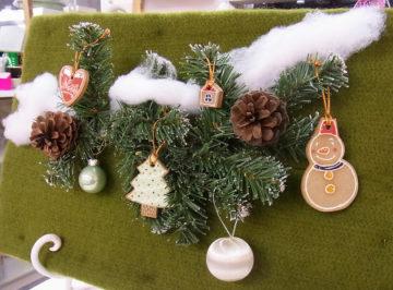 陶芸でクリスマス・オーナメント作り☆ -東京新宿の陶芸教室 プロップスアートスクールで陶芸体験-の画像