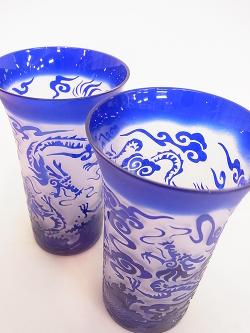 色被せグラスは素敵!! -東京新宿の陶芸教室 プロップスアートスクールで陶芸体験-の画像
