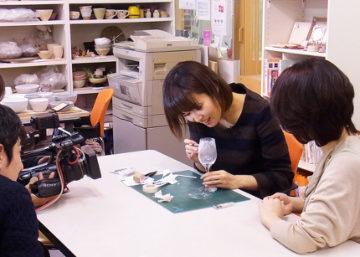 テレビ東京『7スタLIVE 』テレビ取材のお知らせ -東京新宿の陶芸教室 プロップスアートスクールで陶芸体験-の画像
