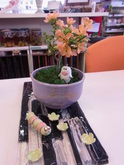 盆栽2 -東京新宿の陶芸教室 プロップスアートスクールで陶芸体験-の画像