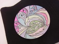 作品色々…ガラス絵の具 -東京新宿の陶芸教室 プロップスアートスクールで陶芸体験-の画像