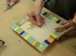 陶芸の時計 -東京新宿の陶芸教室 プロップスアートスクールで陶芸体験-の画像