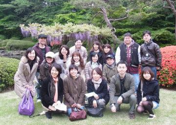 お花見会を開催しました! -東京新宿の陶芸教室 プロップスアートスクールで陶芸体験-の画像