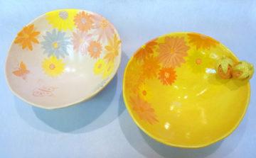 陶芸・5月の新作☆ -東京新宿の陶芸教室 プロップスアートスクールで陶芸体験-の画像