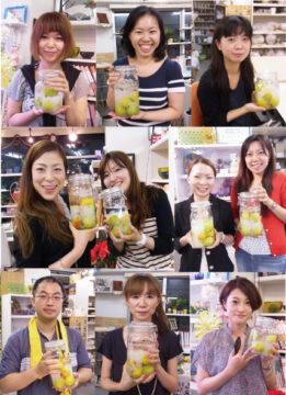 梅酒特別レッスン☆22日まで延長決定!! -東京新宿の陶芸教室 プロップスアートスクールで陶芸体験-の画像
