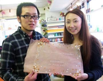 フュージングdeウェルカムボード作り -東京新宿の陶芸教室 プロップスアートスクールで陶芸体験-の画像