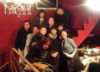 新年会を開催いたしました! -東京新宿の陶芸教室 プロップスアートスクールで陶芸体験-の画像
