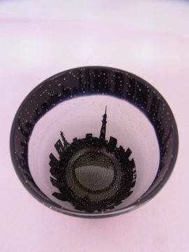 サンドブラスト作品 -東京新宿の陶芸教室 プロップスアートスクールで陶芸体験-の画像