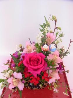 桃の節句 -東京新宿の陶芸教室 プロップスアートスクールで陶芸体験-の画像