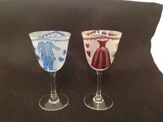 生徒さんガラス作品です -東京新宿の陶芸教室 プロップスアートスクールで陶芸体験-の画像