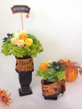 ハロウィンアレンジ特別レッスン※終了! -東京新宿の陶芸教室 プロップスアートスクールで陶芸体験-の画像
