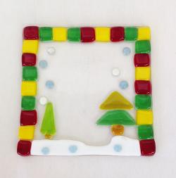 クリスマスプレート沢山出来上がって来ています☆ -東京新宿の陶芸教室 プロップスアートスクールで陶芸体験-の画像