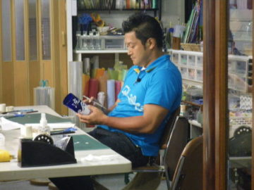 Props Art Schoolには芸能人の方々も多数来校されています! -東京新宿の陶芸教室 プロップスアートスクールで陶芸体験-の画像