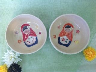 生徒さん作品です!② -東京新宿の陶芸教室 プロップスアートスクールで陶芸体験-の画像
