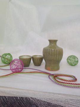 生徒さん作品です! -東京新宿の陶芸教室 プロップスアートスクールで陶芸体験-の画像