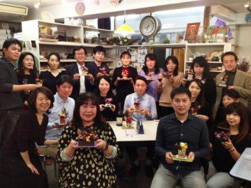 ボジョレーヌーボー 特別レッスン開催いたしました★ -東京新宿の陶芸教室 プロップスアートスクールで陶芸体験-の画像