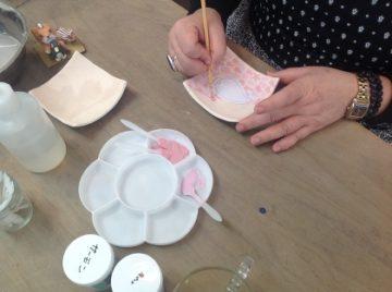 本日の陶芸の生徒さん♪ -東京新宿の陶芸教室 プロップスアートスクールで陶芸体験-の画像
