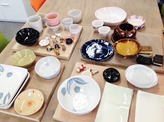 陶芸窯出ししました♪ -東京新宿の陶芸教室 プロップスアートスクールで陶芸体験-の画像